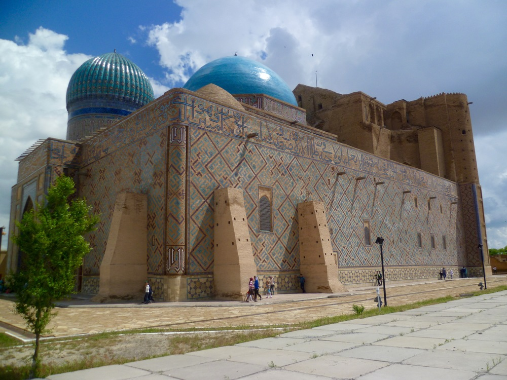 Mausoleum of Khoja Ahmed Yasawi side 2.jpg