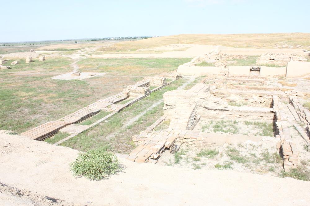 View of Otrar inner walls