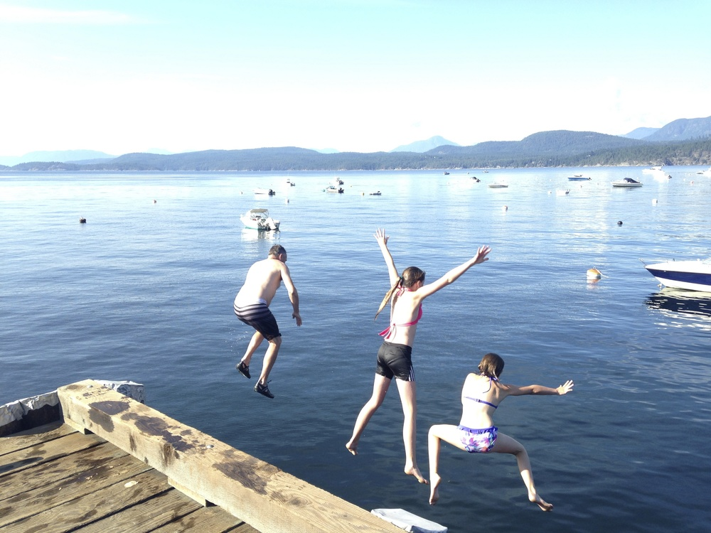 Activities on Savary Island are for people of all ages