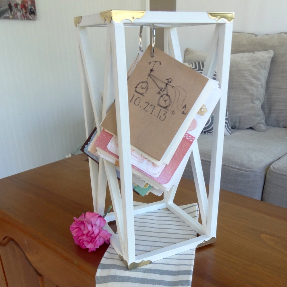 Diy Wedding Card Holder Think Create Renovate
