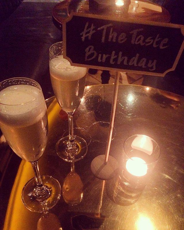 Raising a glass to @thetaste_ie on their third birthday! Congrats to all the team 🍾 #thetastebirthday