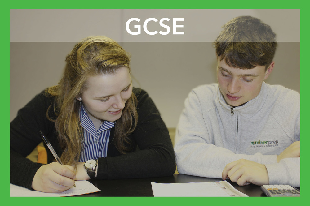 GCSE's may be your child's first experience of a major exam and this can seem like a daunting prospect but, with the correct support, there's no need to be concerned. At Numberprep our highly experienced tutors are able to teach content all exam boards, including Edexcel and AQA, covering all the relevant topics to ensure that your child is confident and able to perform to the best of their ability by the time exam season comes around.    Topics - Numbers, Algebra, Graphs, Geometry and Measures, Pythagoras and Trigonometry, Statistics and Probability