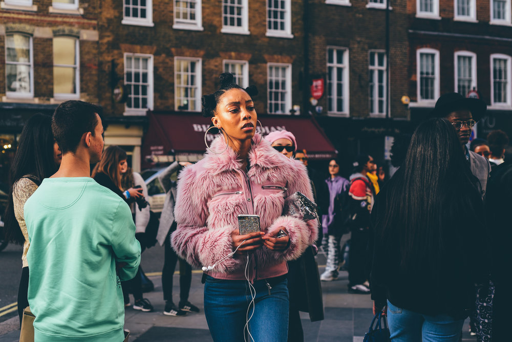 London Fashion Week Feb 2018 -