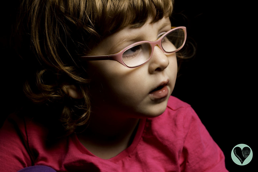 Little girl with WAGR syndrome