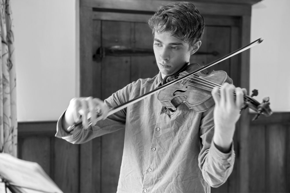 Tim Crawford, violin