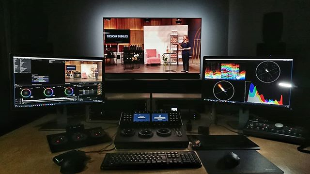 New grading suite equiped for full 4K and HDR projects. #directors #producers #cinematographers #agencies and #brands are always welcome to get in touch. @davinciresolvecolor @blackmagicdesign_news @avidtechnology @filmlight_ #baselight #colorcorrection #colorgrade #studio #grading #visual  #cologne #köln #deutschland