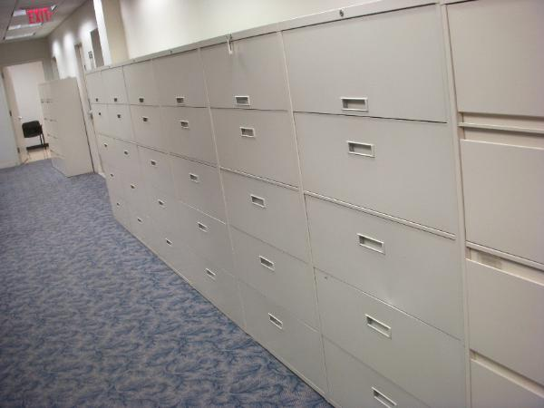 Steelcase File cabinets - Beige - 5dr lateral