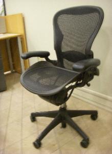 a herman miller aeron chair