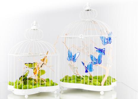 Cage à papillons Baccarat
