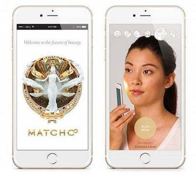 Application Shiseido MatchCo