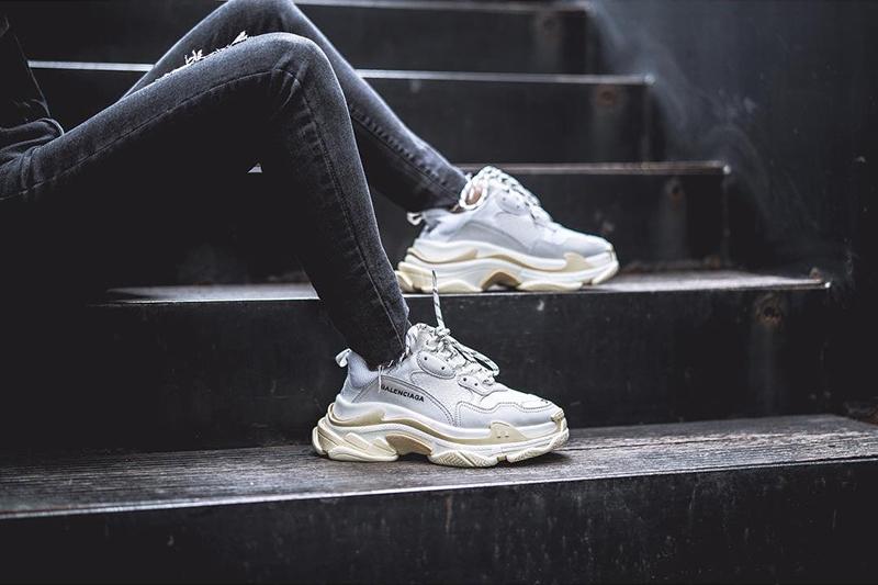 Balenciaga Triple S, la chaussure la plus recherchée en 2018
