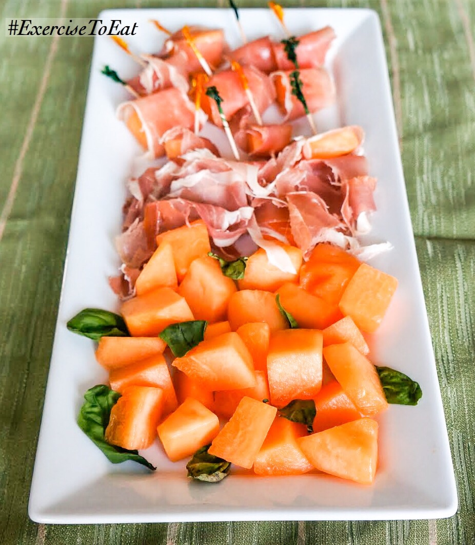 One of my favorite combinations of salty and sweet! Delicious appetizer for any party.