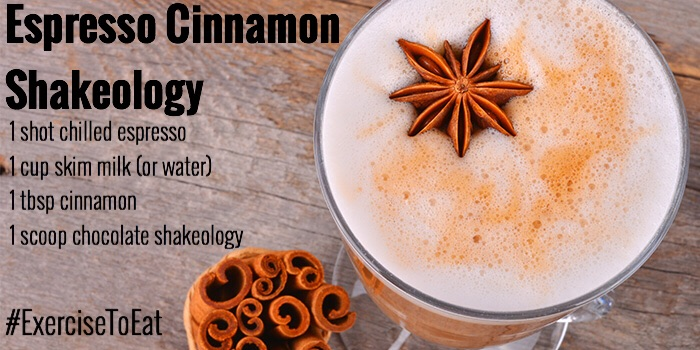 Perfect Shake in the morning! Tasty treat loaded with nutrition. Shakeology!!!