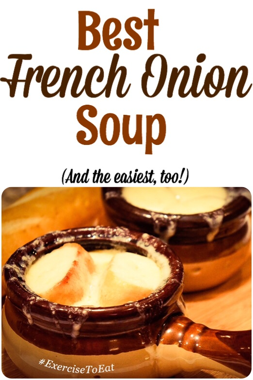 The easiest and tastiest French onion soup recipe, ever! Warm up on a cold day with this fun to make recipe.