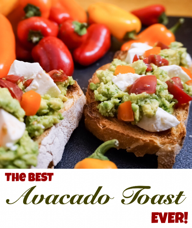 Oh my god this is so good! Super creamy and delicious avocado toast. Great snack/dinner!