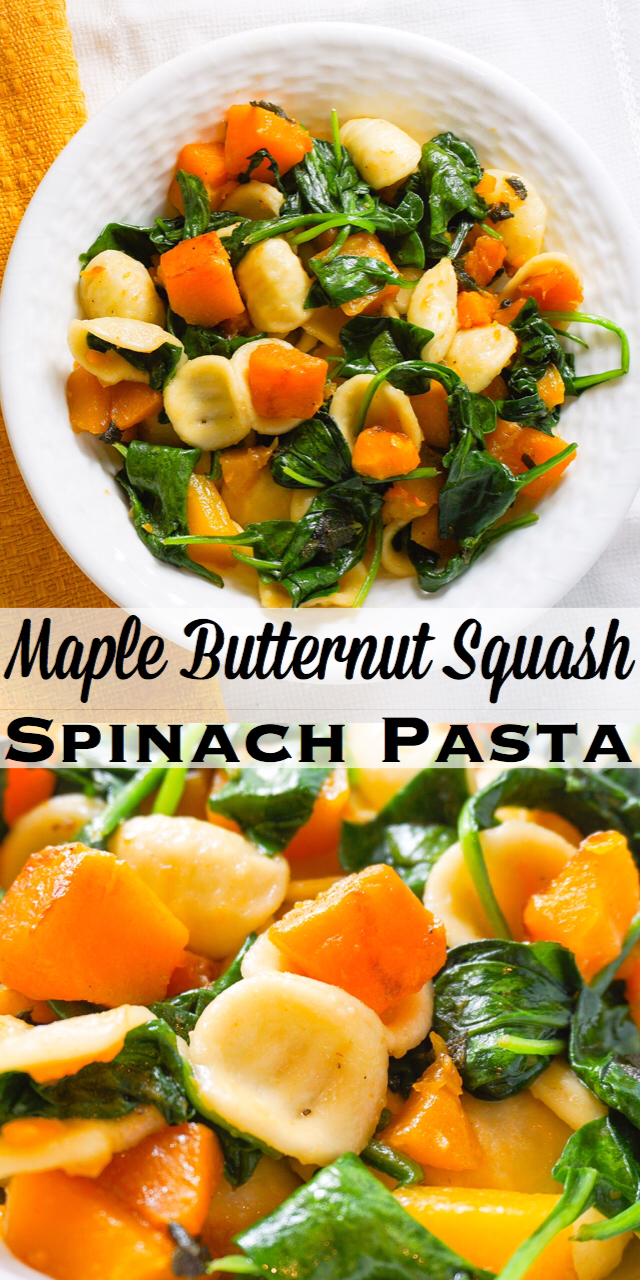 Comfort food the whole family will enjoy! Sweetness of syrup combined with savory sage is a perfect marriage of flavor:) Yum