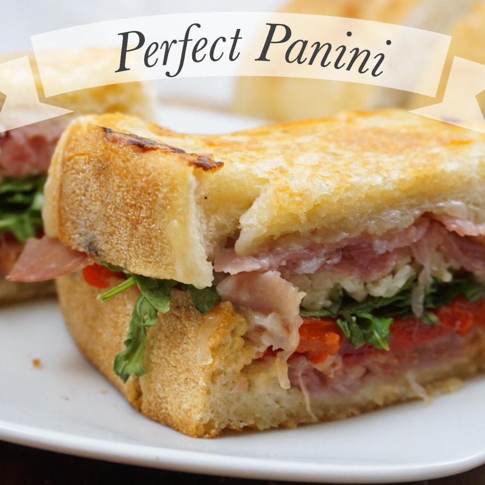 Soooo good❤️ Warm, gooey cheese panini that takes 5 minutes to make!