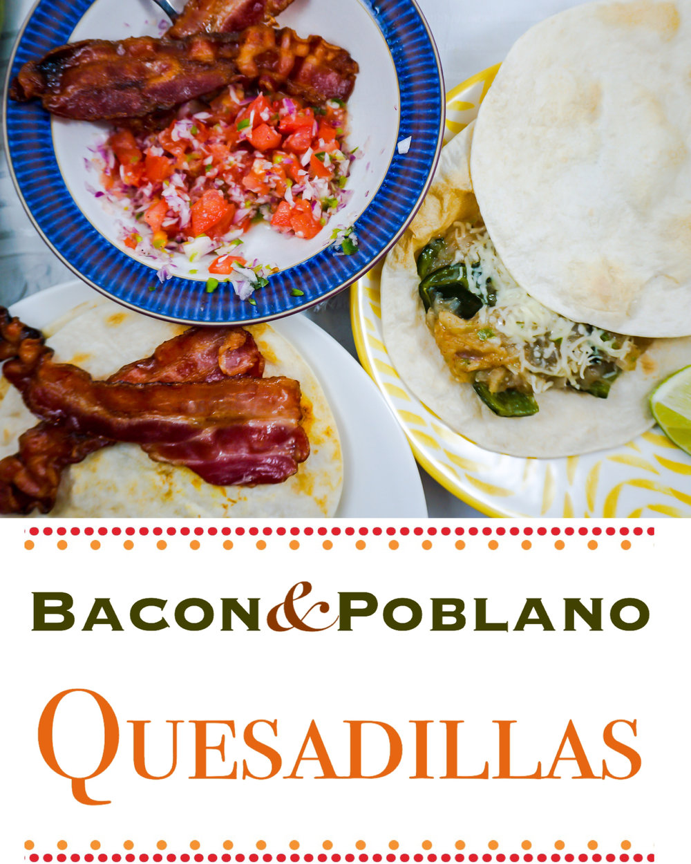 Bacon = Yum 👅 Cheese = Yum 😛 Super delicious quesadilla recipe!
