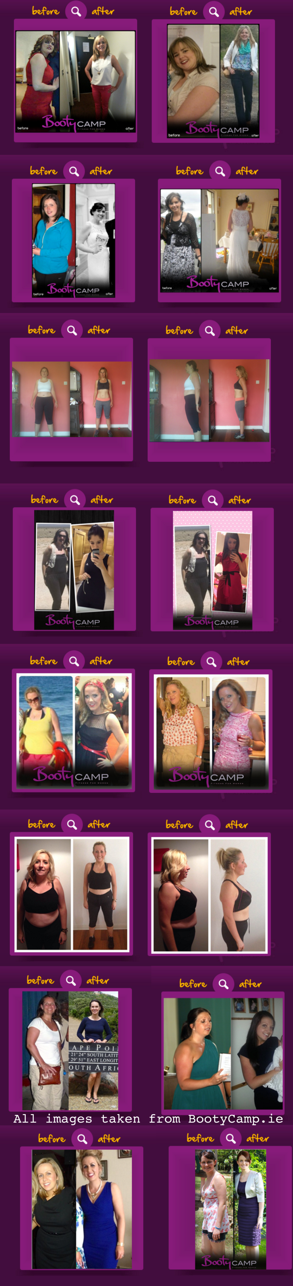 before after images boot camp amazing transofrmations