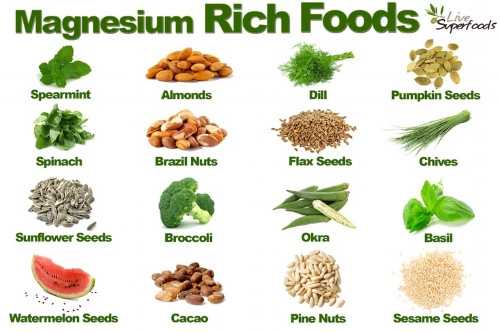 This image is not here to highlight magnesium rich foods but to question...is eating watermelon seeds a thing? Really?