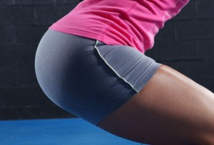 women booty squats