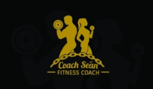 coach sean personal trainer fitness logo boot camp session
