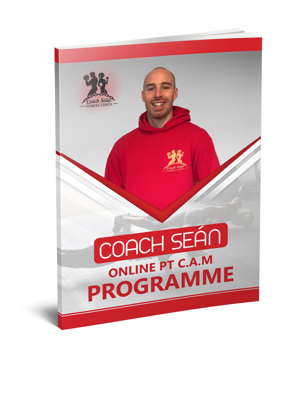 fitness ebook cover coach sean training advice challenge excel effective coaching consistency accountability motivate motivation 12 weeks journey book members