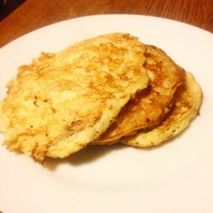 Banana Pancakes, simple and really good!