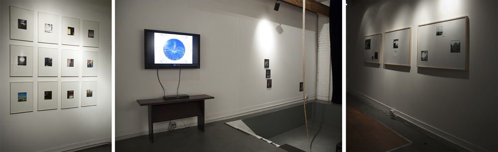 Installation View,  4 Story , Collaboration with Emma High, Lizz Stringfield, Coriana Close, 5th on 6th Gallery Tucson, AZ
