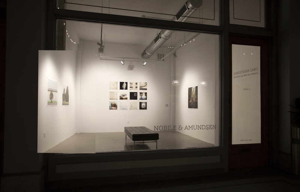 Installation View,  Talk About Your Best Day Outdoors , Nobile & Amundsen Gallery, Norfolk, VA