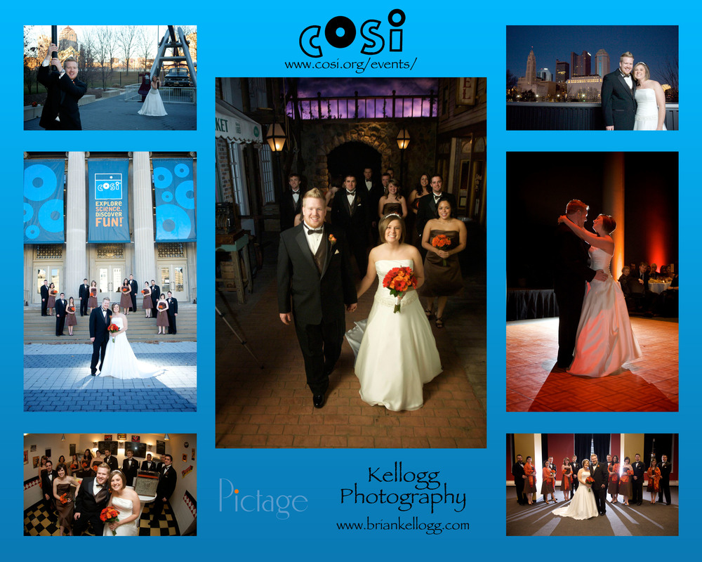 COSI Wedding Venue