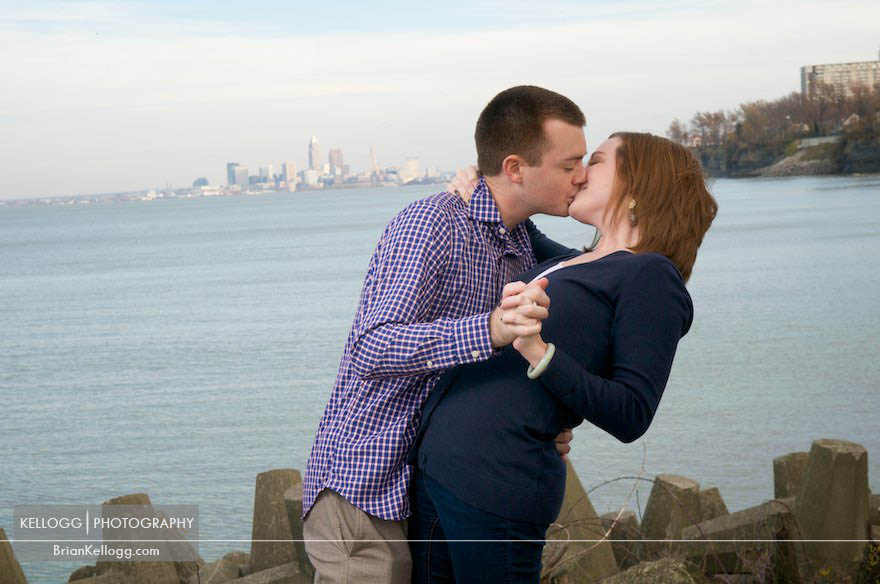 Cleveland Ohio Engagement Session