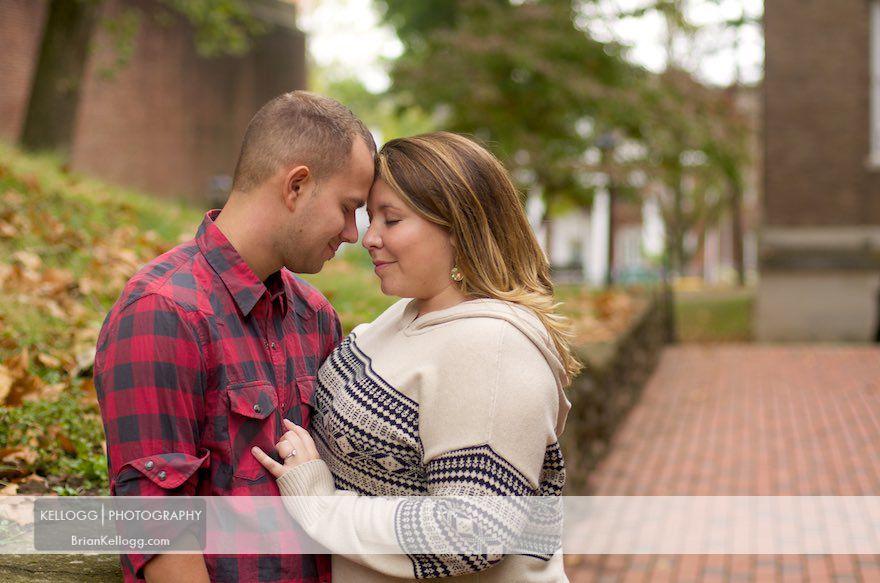 Athens Ohio Engagement Session Photos