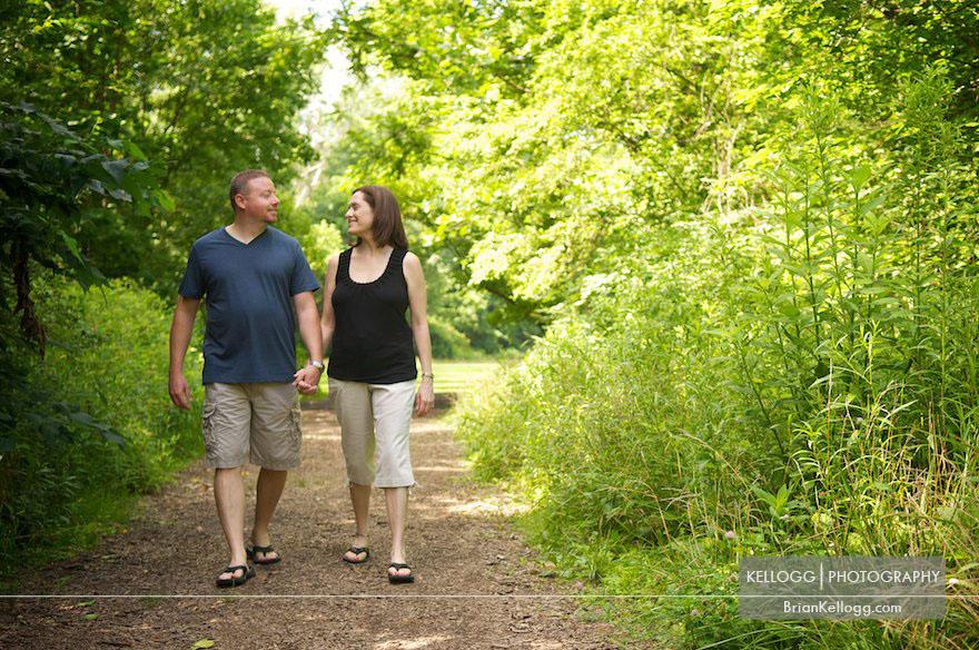 Gahanna Engagement Photographs