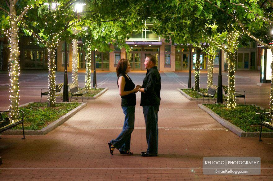 Columbus Ohio Downtown Engagement Photos