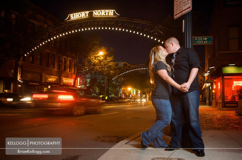 Short North Engagement Session