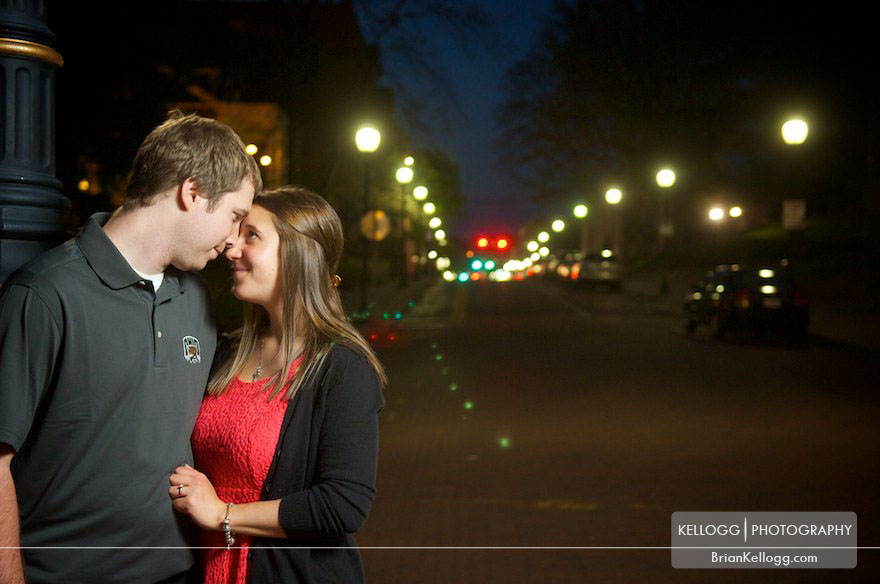 Ohio University Engagement Photography