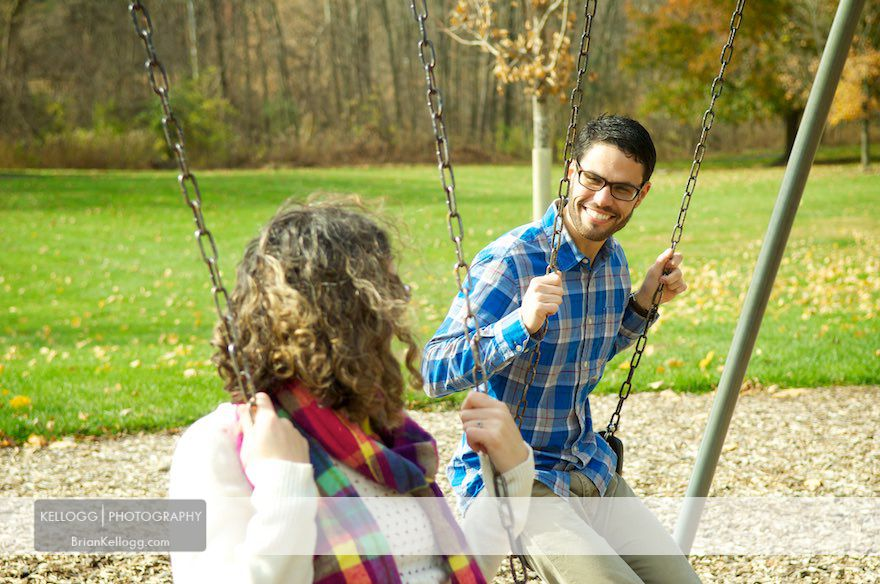 Sharon Woods Metro Park Engagement Photos