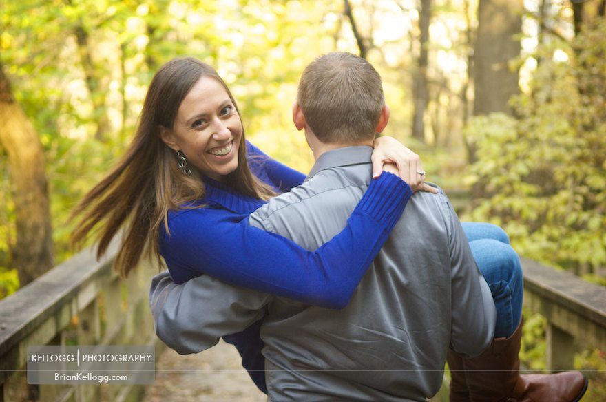 Hayden Run Falls Engagement Session