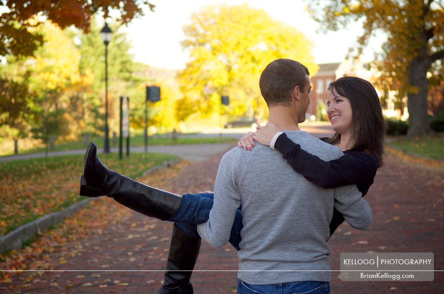 Athens Ohio Engagement Photos
