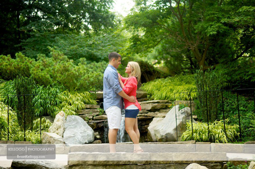 Columbus Ohio Engagement Photos Park
