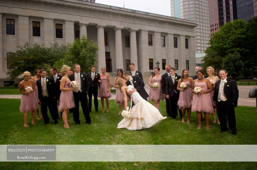 State House Columbus Wedding