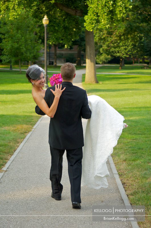 OSU Oval Campus Wedding