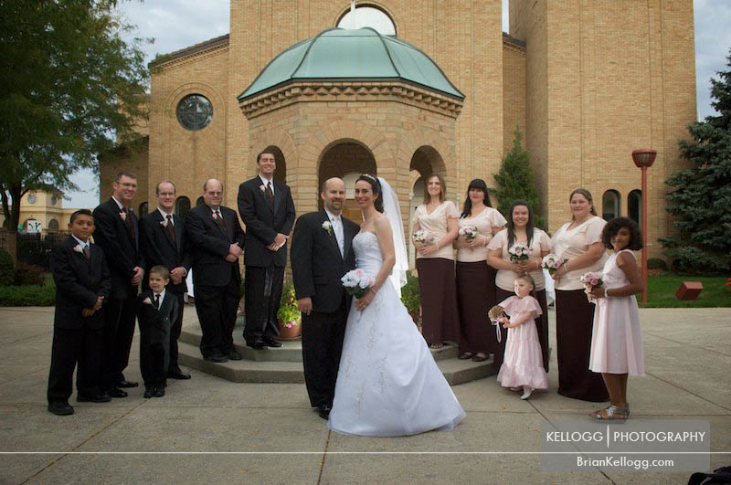 Greek Orthodox Church - Gahanna Jewish Wedding