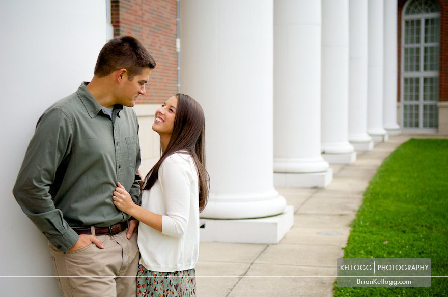 Walter Hall Rotunda Engagement Session