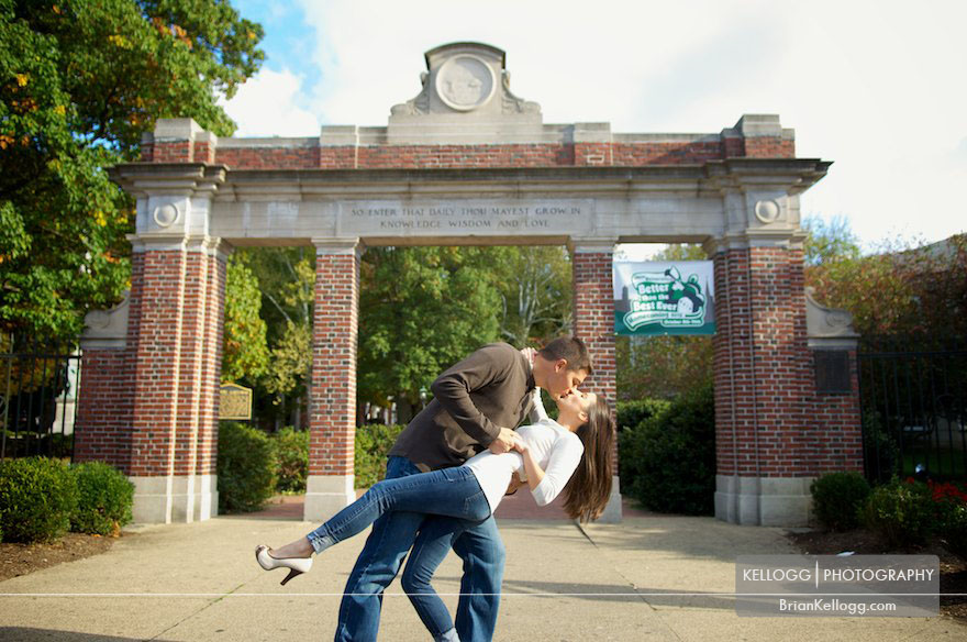 Ohio University Engagement Session