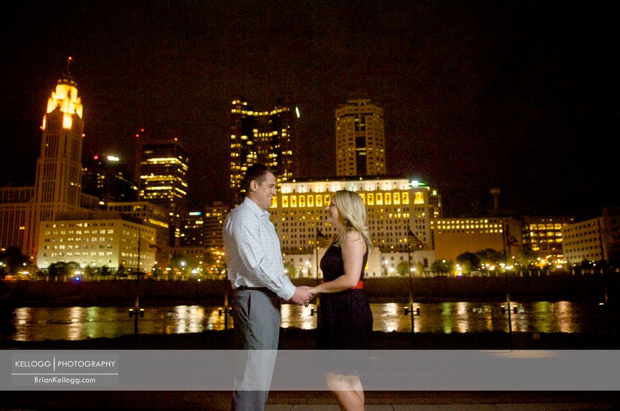 Arena District Engagement Session Photos