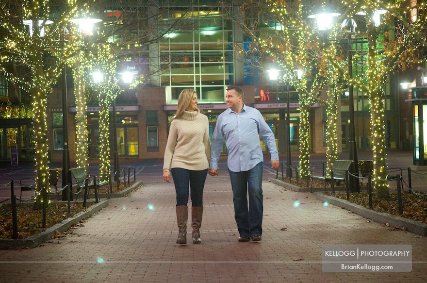Arena District Engagement Photos