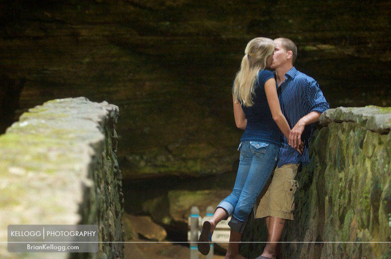 Old Man's Cave Engagement Session