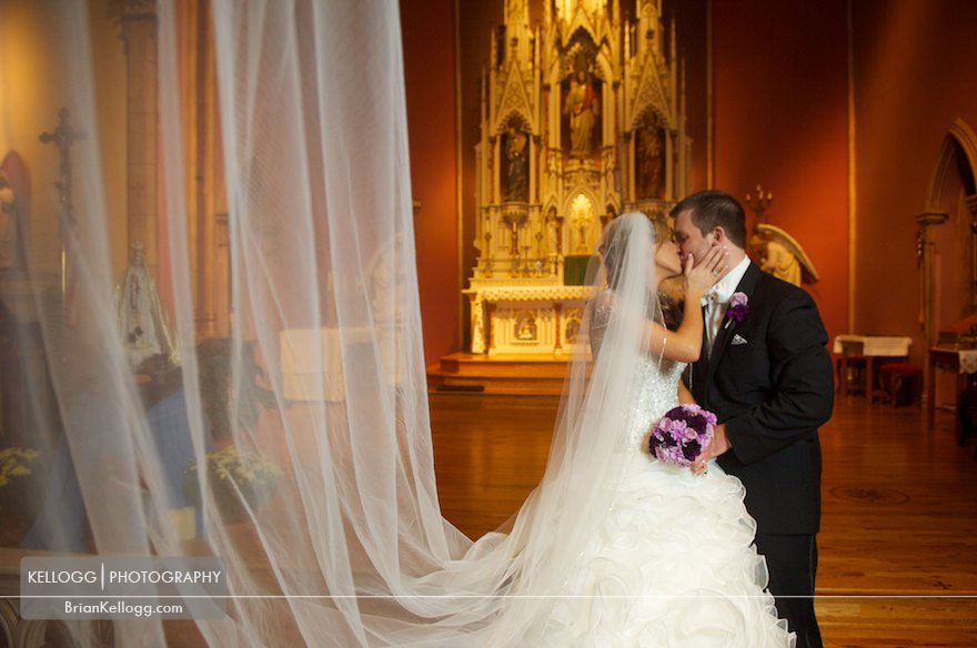 Holy Family Catholic Church Wedding